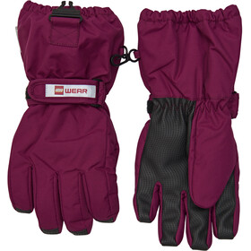 LEGO wear Aiden 703 Gloves Unisex bordeaux